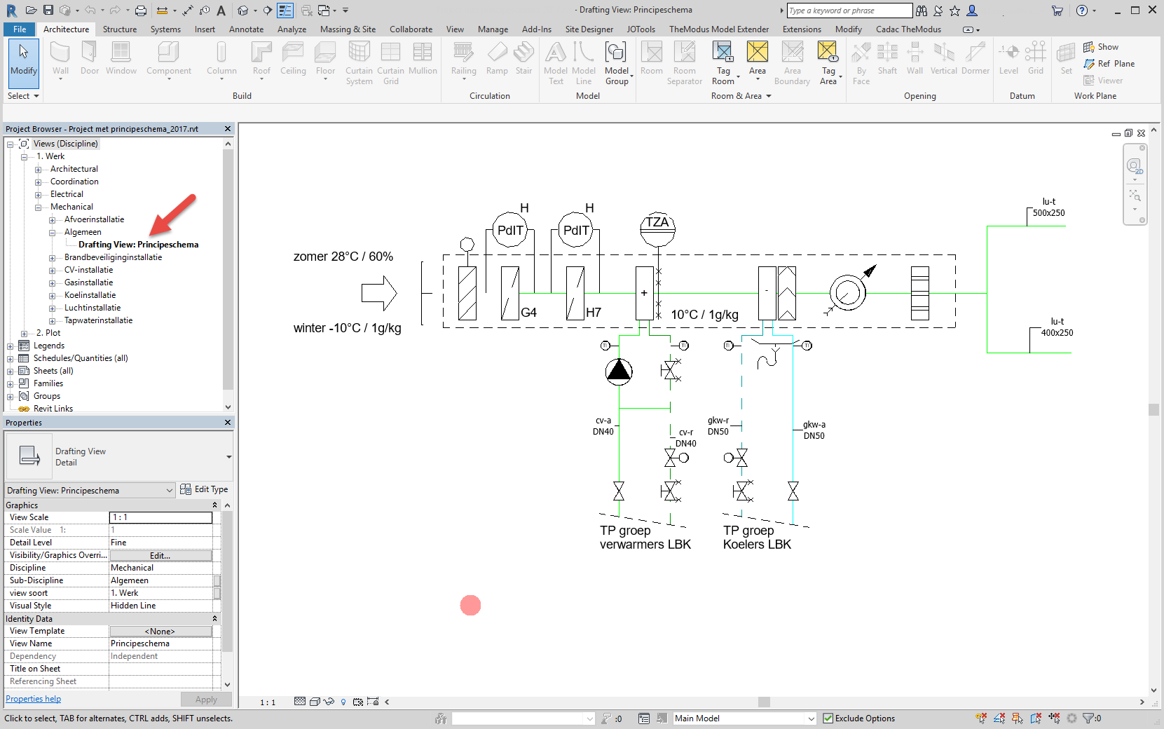 Solved Mep Schematics In Revit Autodesk Community Products Hvac Mechanical Drawing