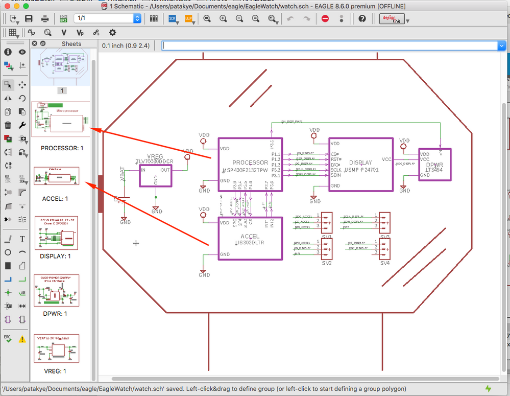 Difference between hierarchal schematics and desing blocks ...