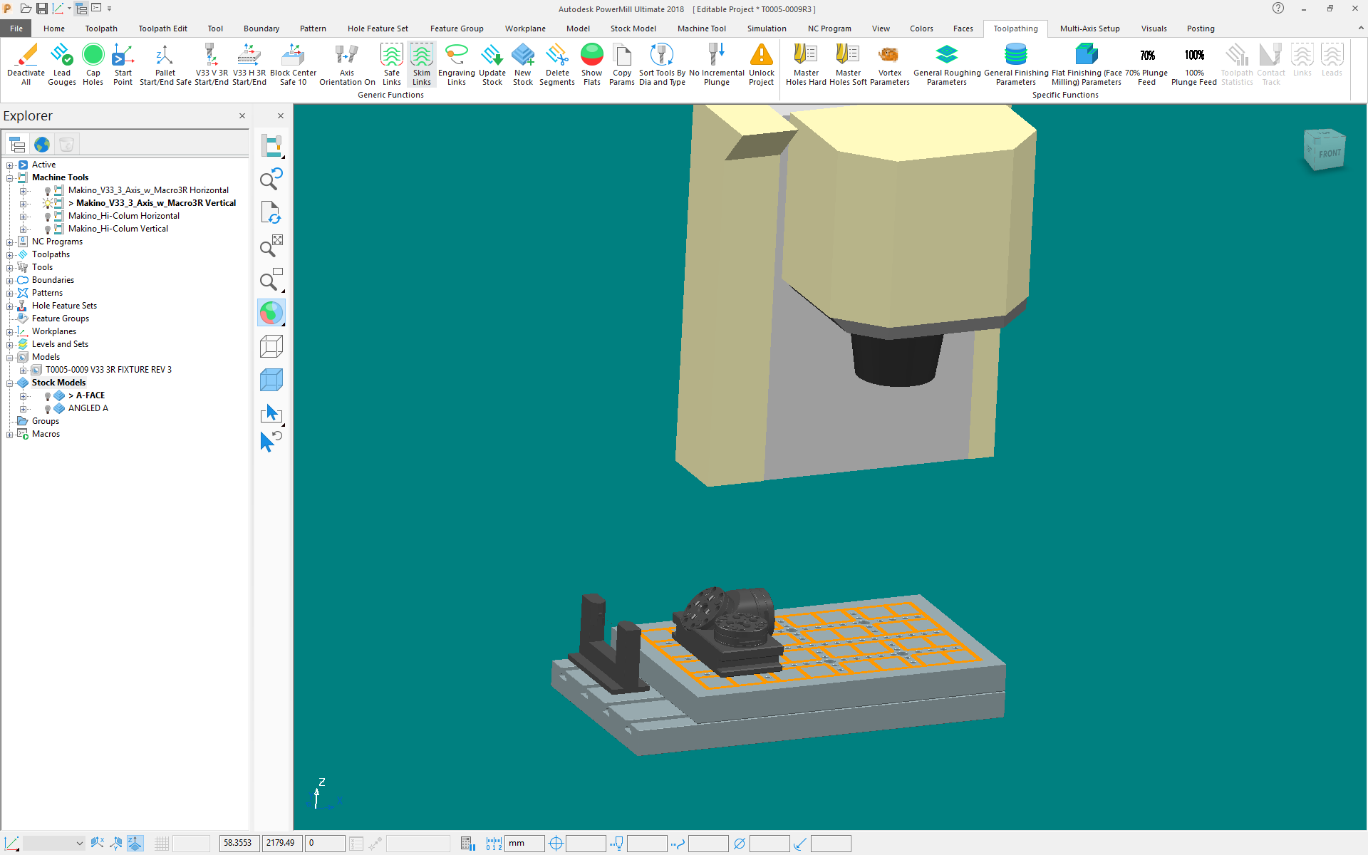 2018 custom setup - Autodesk Community- PowerMill