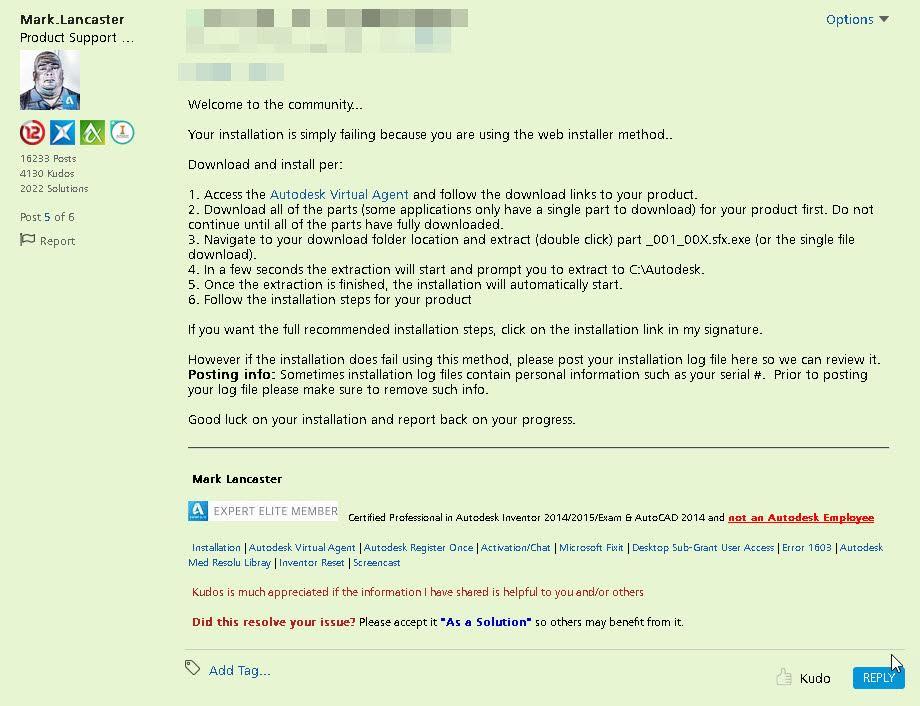 Solved: error 1308 antivirus turned of! Autodesk community.