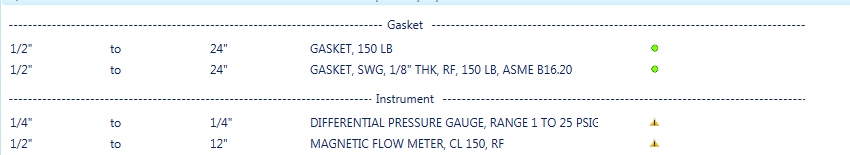 Solved P Id Object Mapping To Inline Instrument Or Pressure Gauge
