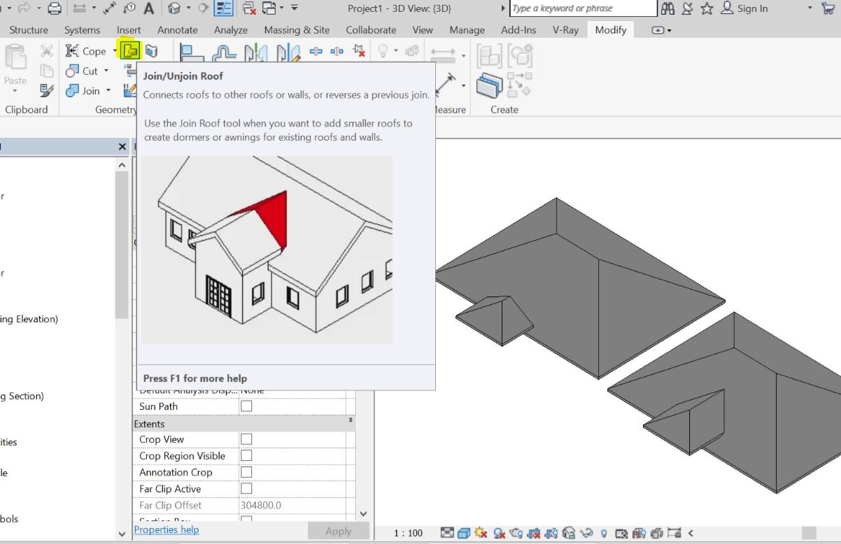 Solved Joining Roofs Raised Eave To Main Roof Autodesk Community Revit Products