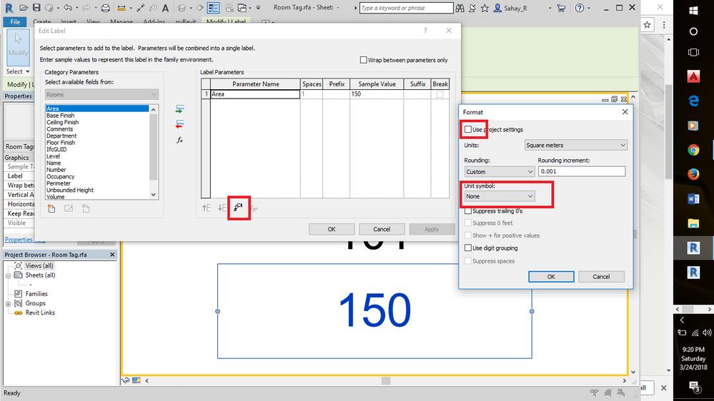 Square Meter Autodesk Community Revit Products