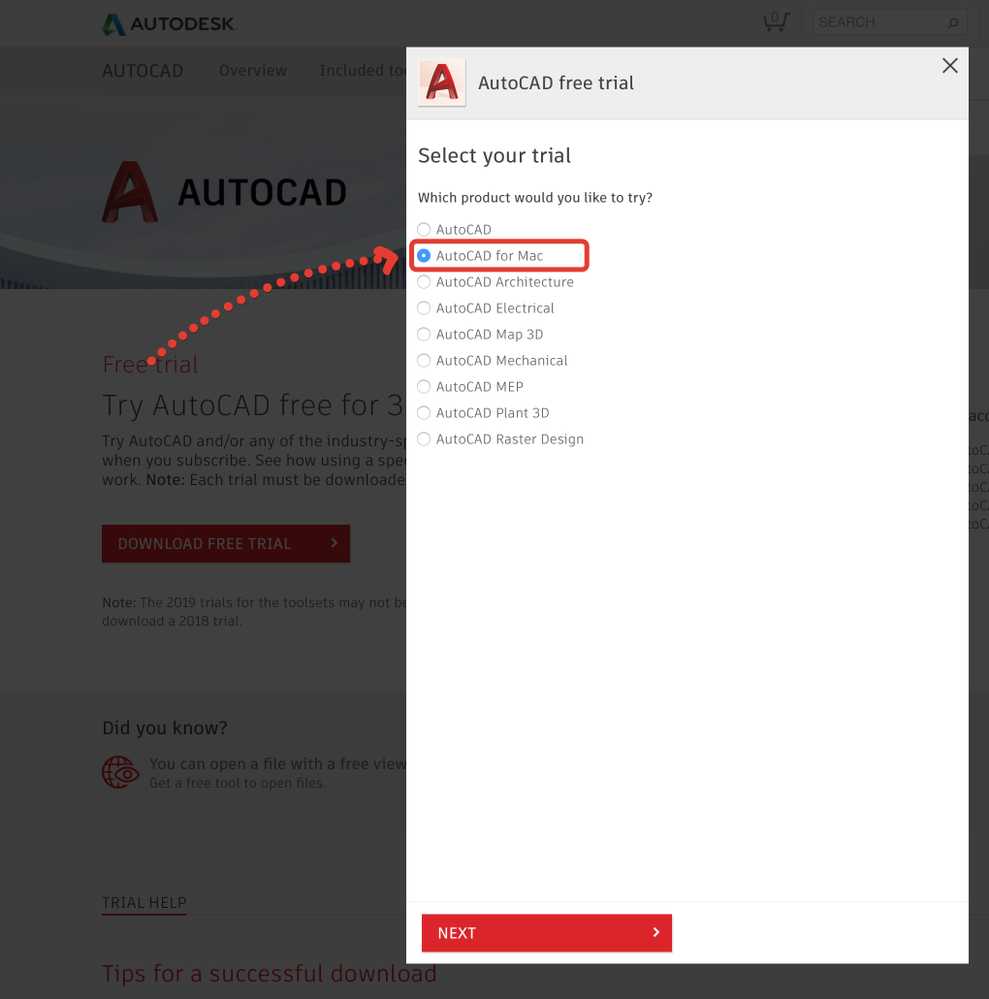 download autocad for mac