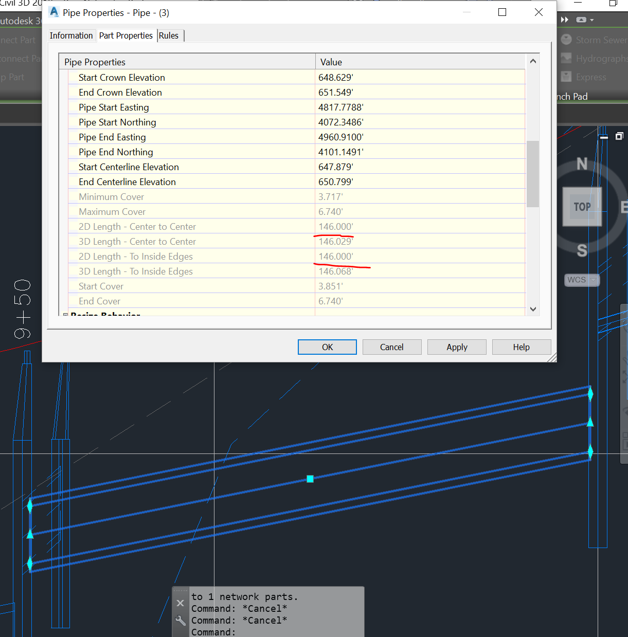 Solved Pipe Slope Problem Autodesk Community Civil 3d Piping Layout Rules