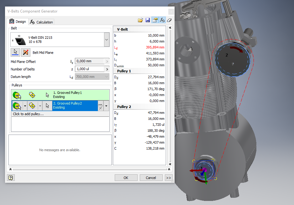 solved small v belts autodesk community inventor