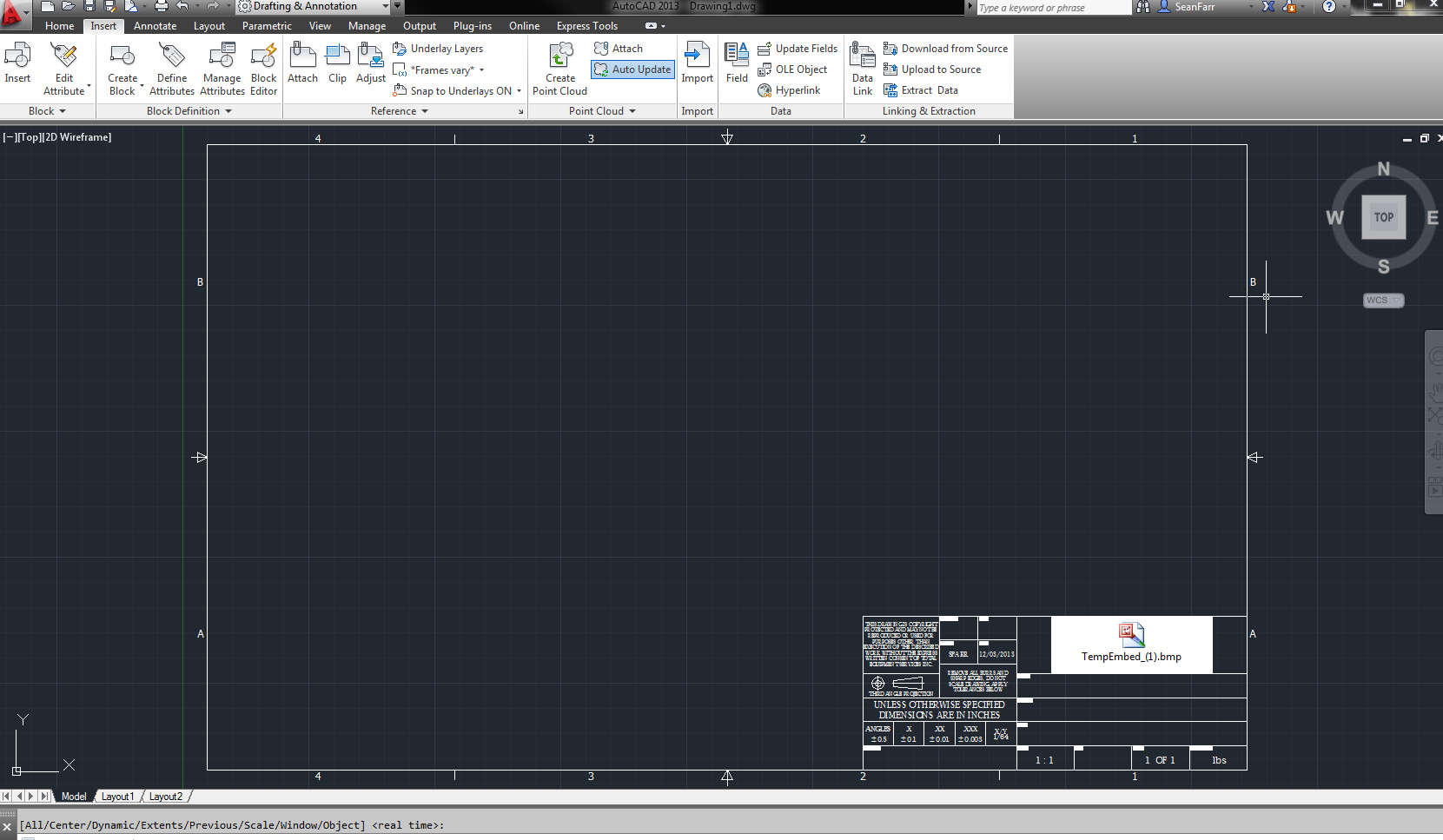 Solved: Import Title Block to AutoCAD 2013 from Inventor 2013 ...