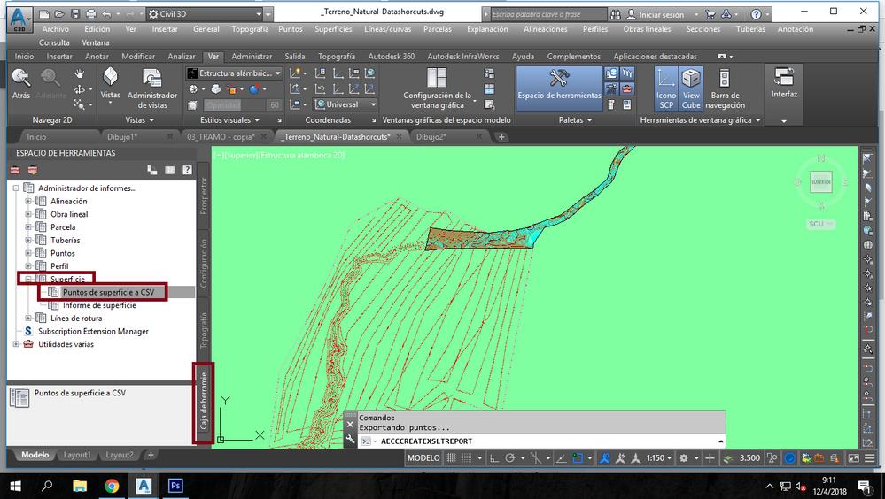 Solucionado: Como extraer puntos de unas curvas de nivel, creadas ...
