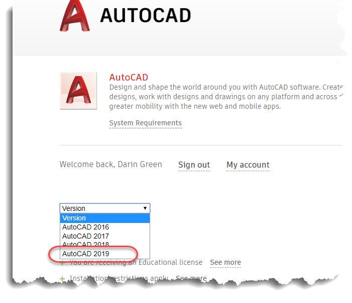 Autocad 2019 System Requirements - Autocad - Design Pallet