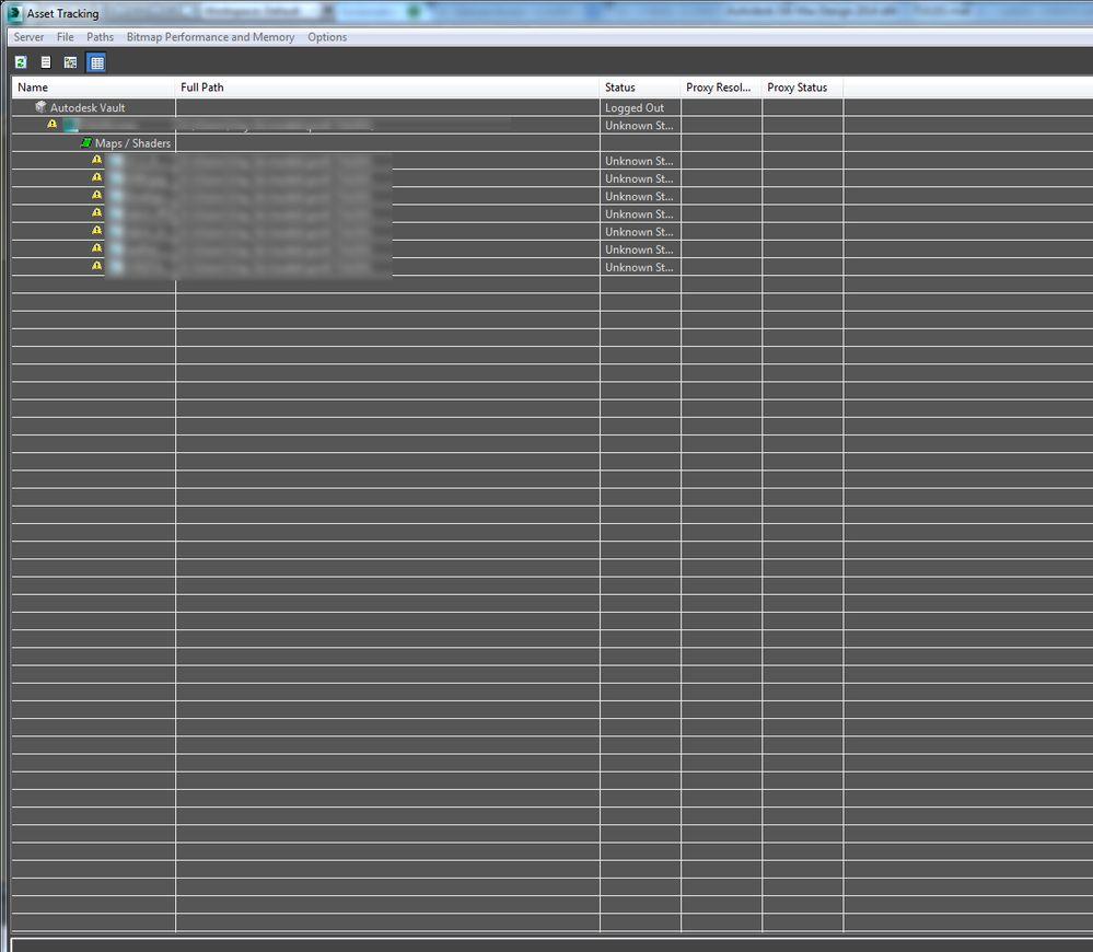 çözüldü Asset Tracking ünlem Işareti Autodesk Community