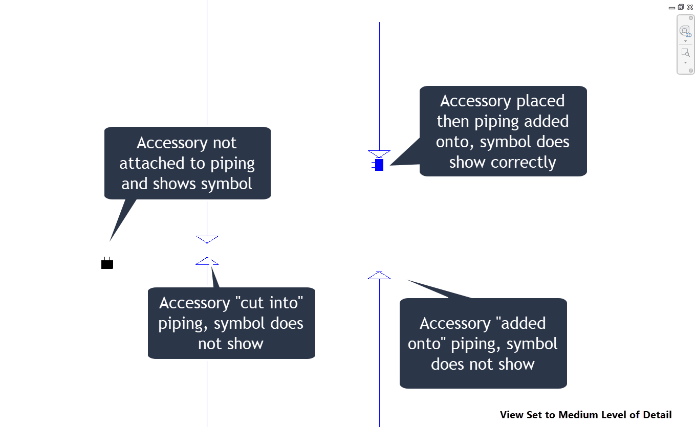 Disappearing Nested Symbols In Pipe Accessories Autodesk Community Piping Diagram Pictures Revit Products