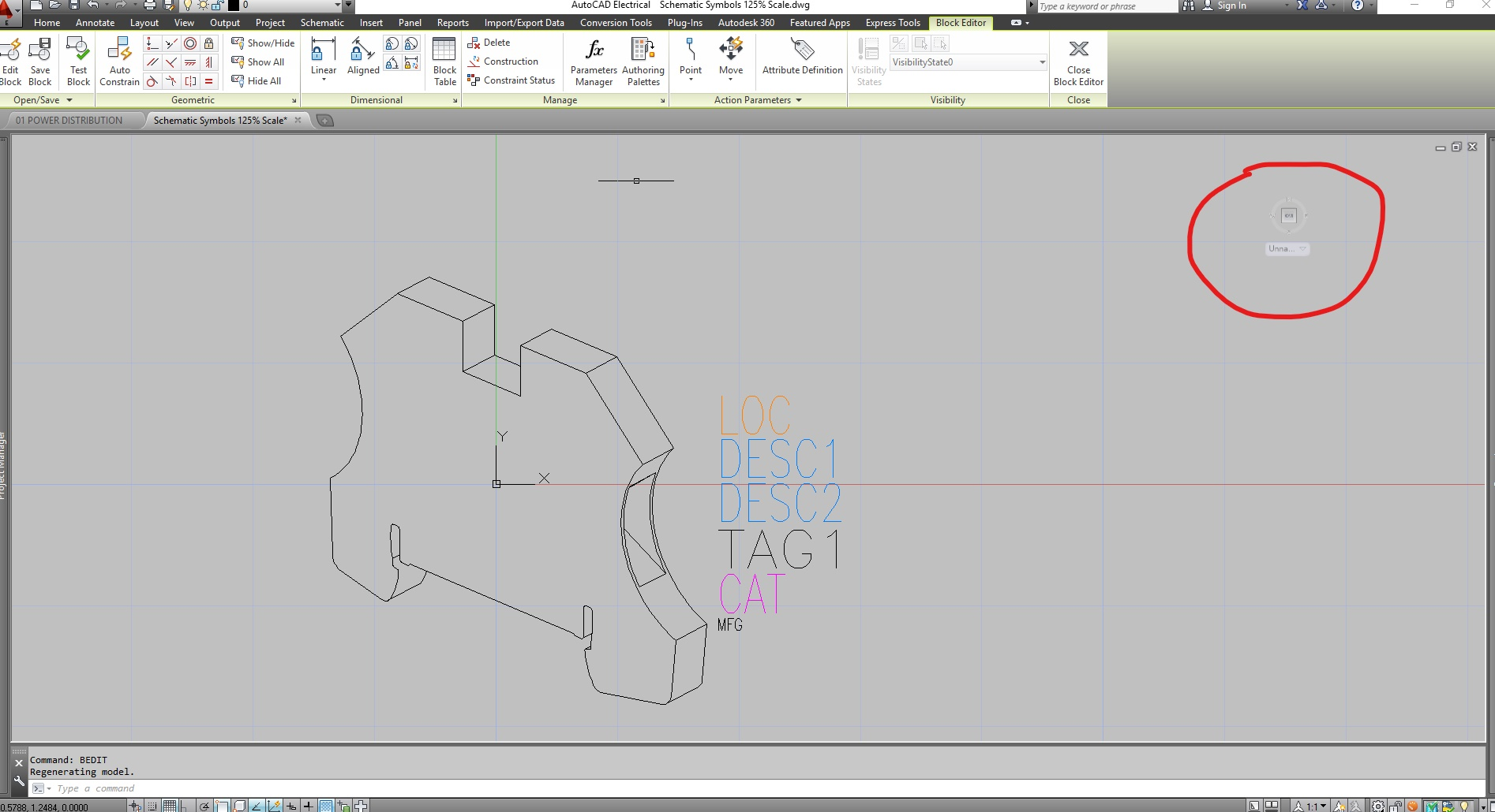 Flatshot Left Over Copy Of 3d Navigation Box Wont Delete Autocad Electrical Wiring Symbols Autodesk Community
