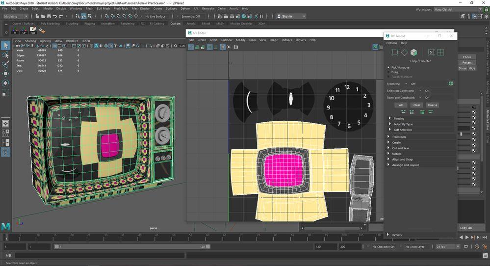 Maya 2018 Texture Not Tiling Properly Autodesk Community Maya