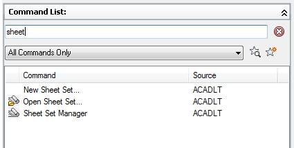 cad LT 2013 Sheet set manager gone - Autodesk Community