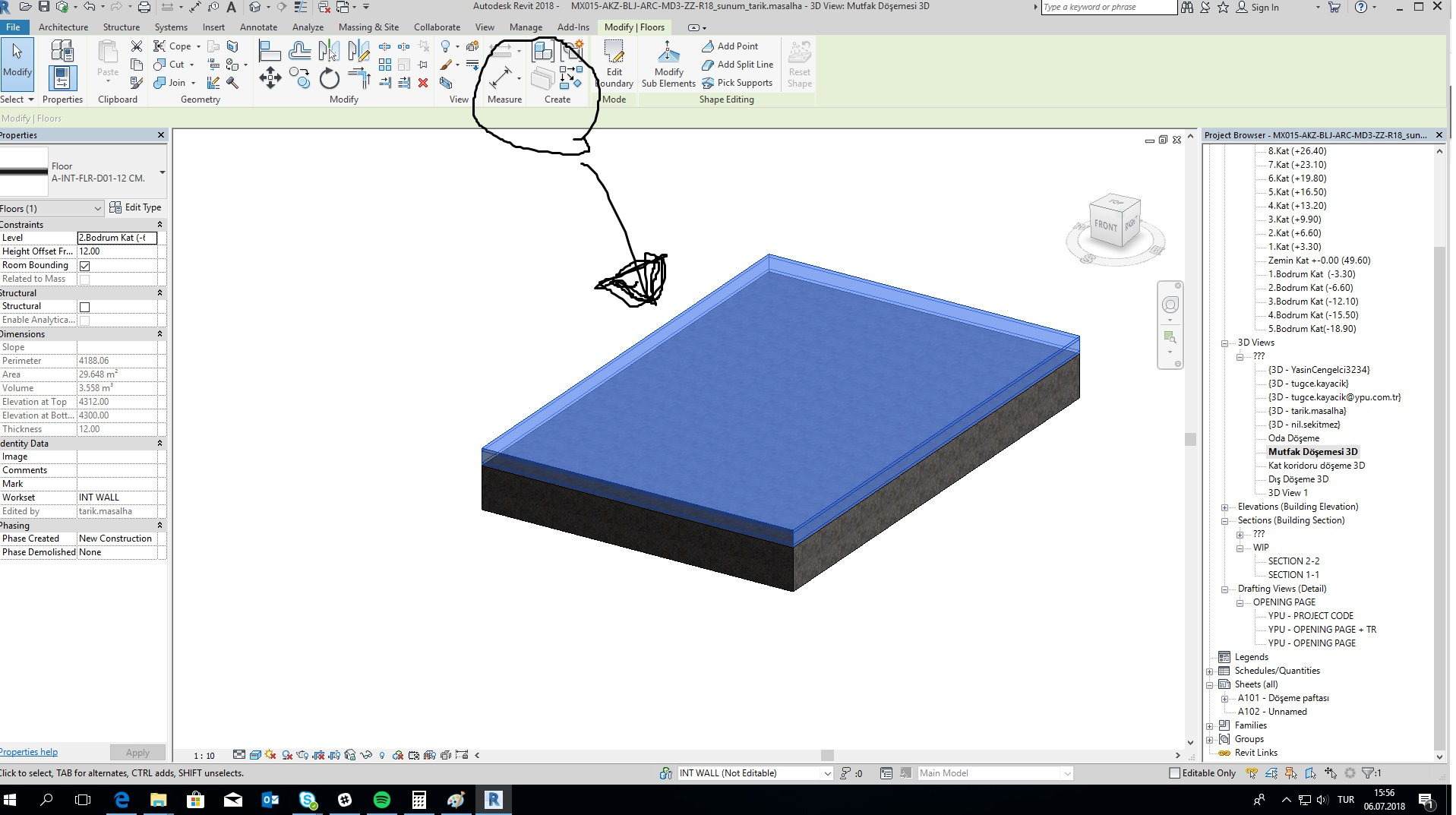 Cannot Create Parts For Roof In Revit Autodesk Community Revit Products