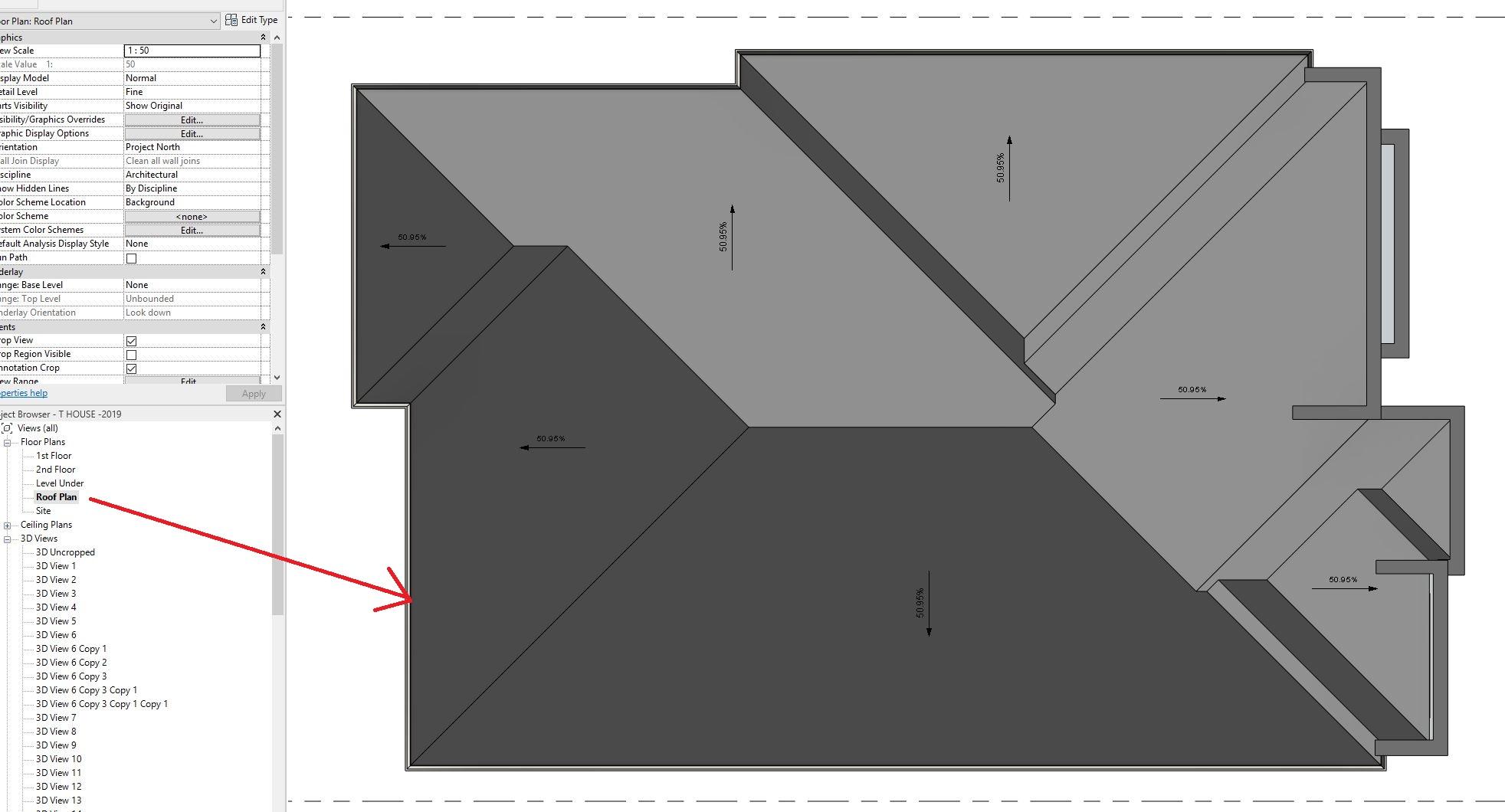 Roof View Range Autodesk Community Revit Products