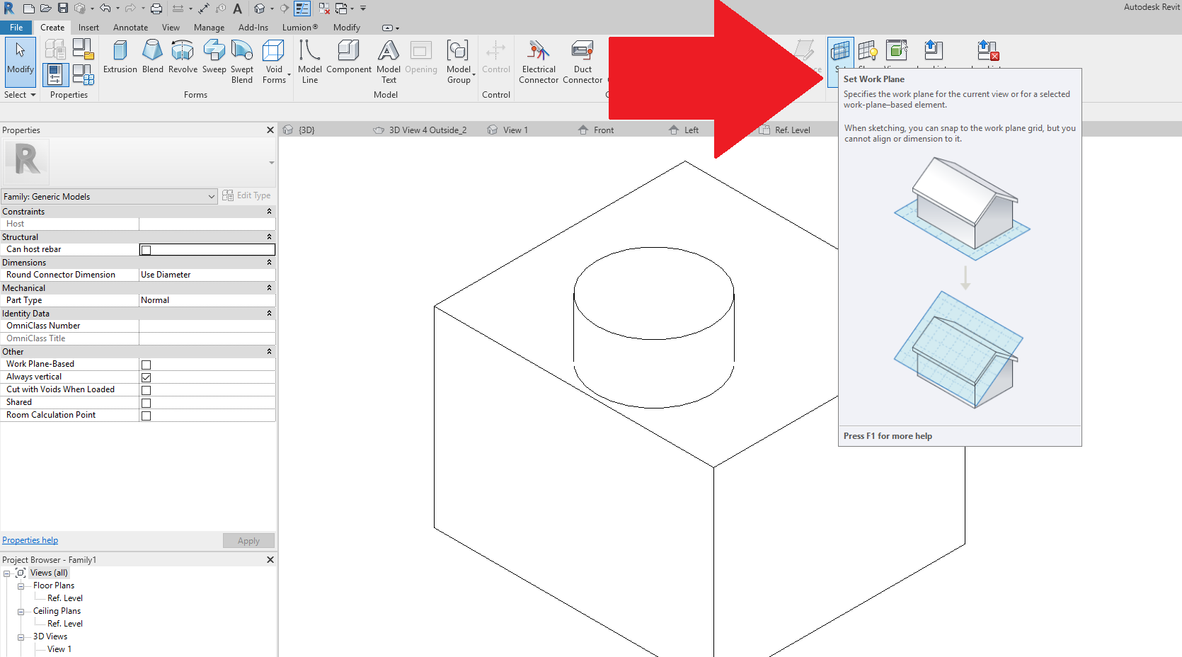 Solved Reasons For Void Not Cutting An Extrusion Autodesk Community Revit Products