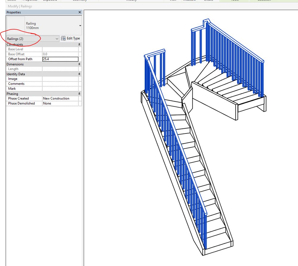 Solved: Remove section of handrail - Autodesk Community