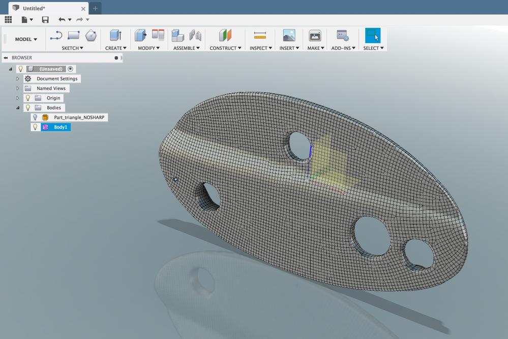 Solved Instantmeshes Quad Convert To T Spline Autodesk Community