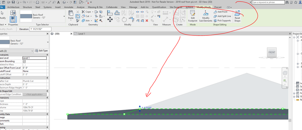 Solved Why Can T I Make This Roof Autodesk Community Revit Products