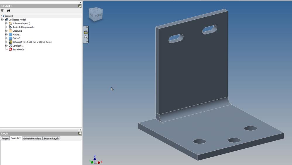 Solved Sheetmetal Flange Mitre Problem Autodesk Community Inventor