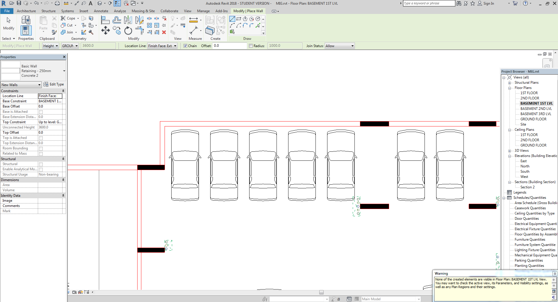 Solved Walls Are Not Visible In Floor Plan Autodesk Community Revit Products