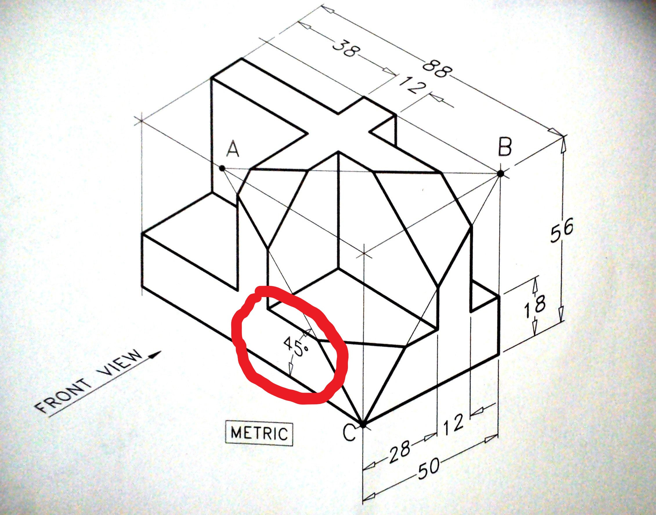 How to make angle dimension in isometric Autodesk Community