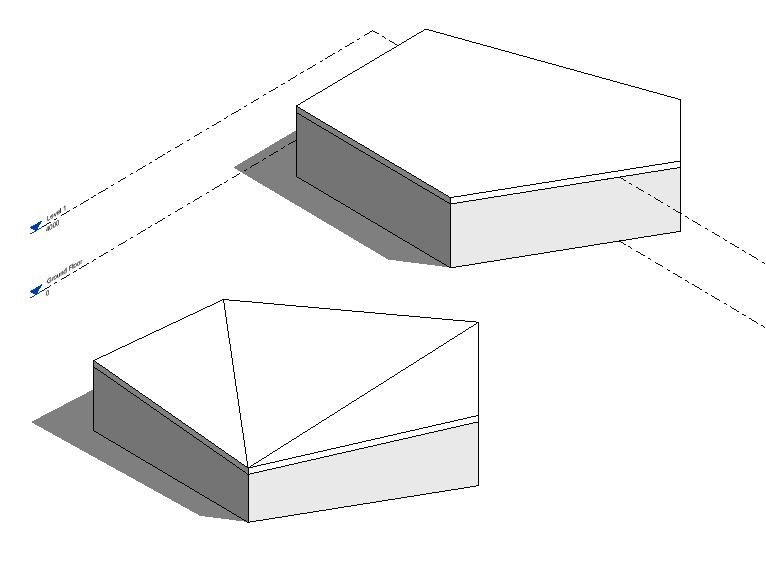 Solved Drawing A Complex Roof In Revit Autodesk Community Revit Products