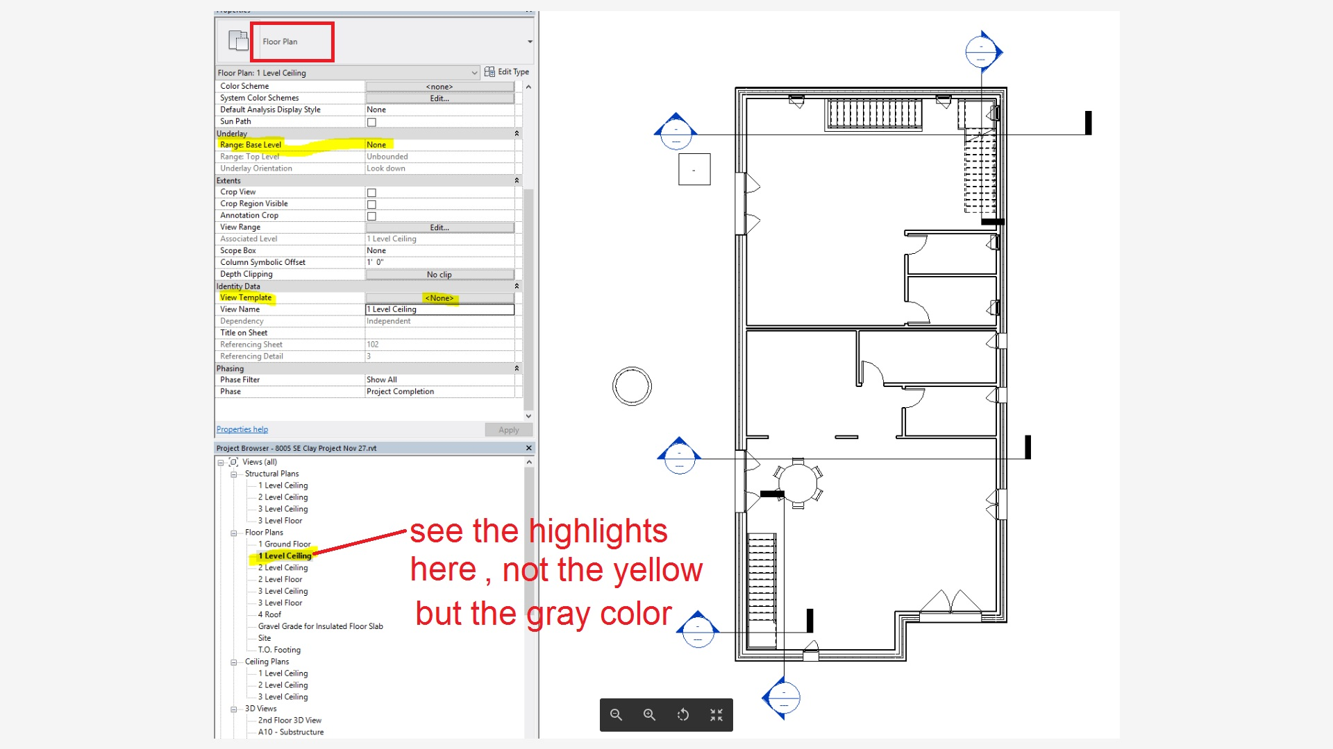 Solved Revit Floor Plan Showing Objects From Floor Above Autodesk Community Revit Products