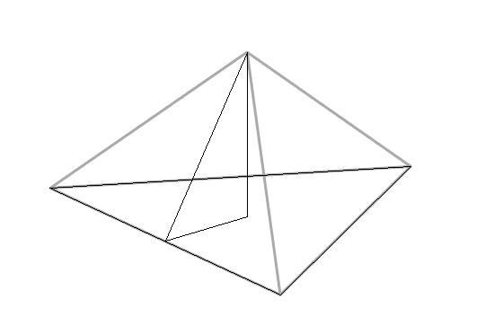 Как сделать треугольную пирамиду 617