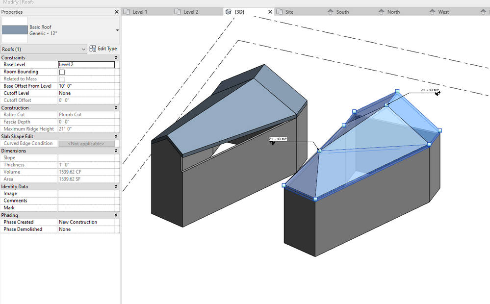 Solved Interesting Roof Design Help Autodesk Community Revit Products