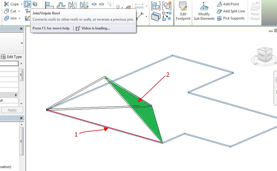 Solved Revit Lt 2014 Roof Pulling Down Vertex Capablility Autodesk Community Revit Products