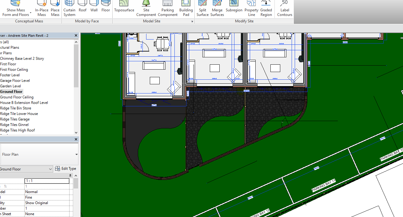 Solved: Best Way To Create Garden Patio/Path? - Autodesk Community - Revit Products