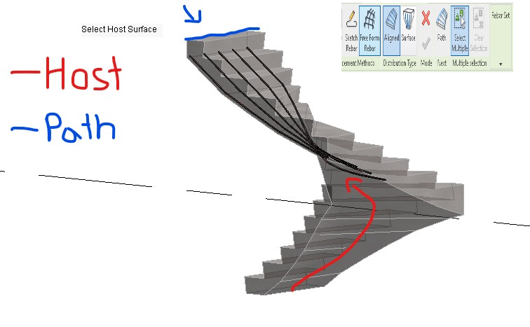 U Shape Winder Stairs Reinfocement Autodesk Community Revit Products