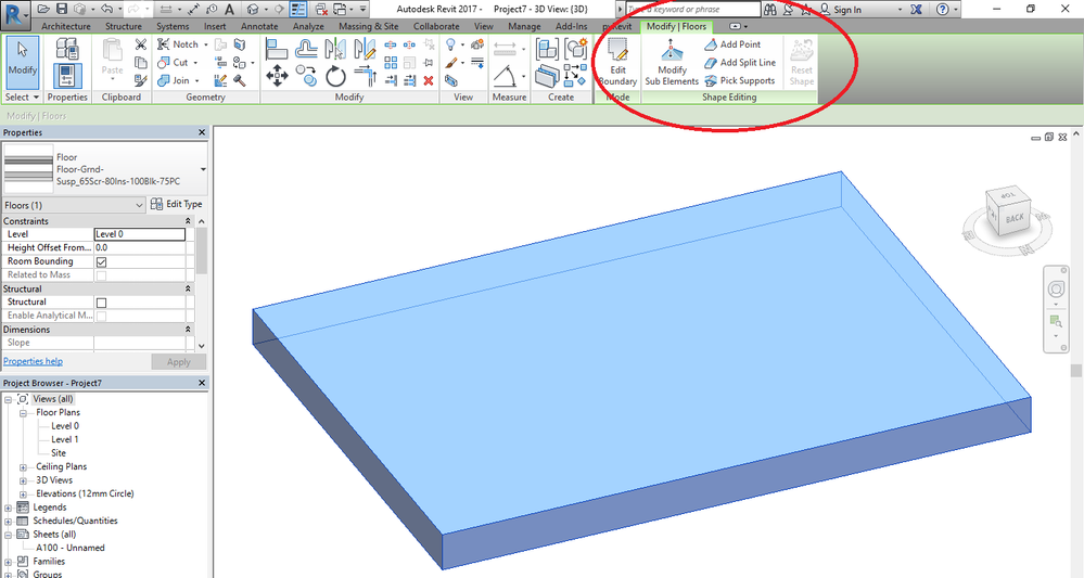 Drop Curb For Model By Face Roof Autodesk Community Revit Products