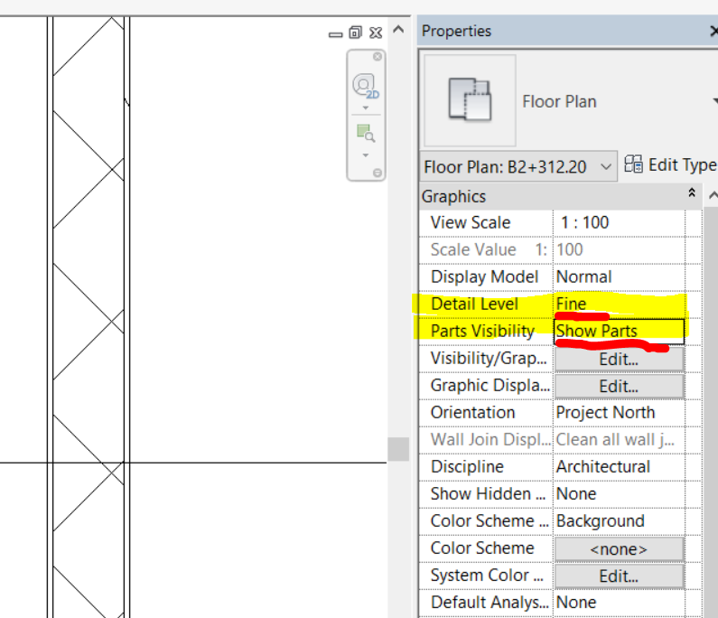 Solved Wall Layers Not Showing In Plan View Autodesk Community Revit Products