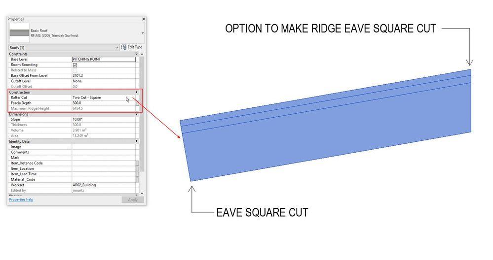 Eave Square Cut Autodesk Community Revit Products