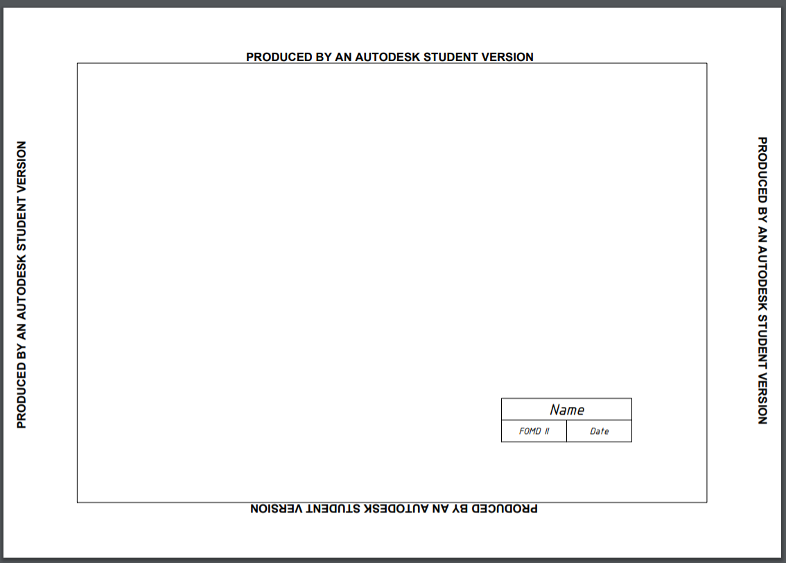 Student Version Watermark Is Rescaling My Drawing Autodesk Community Autocad