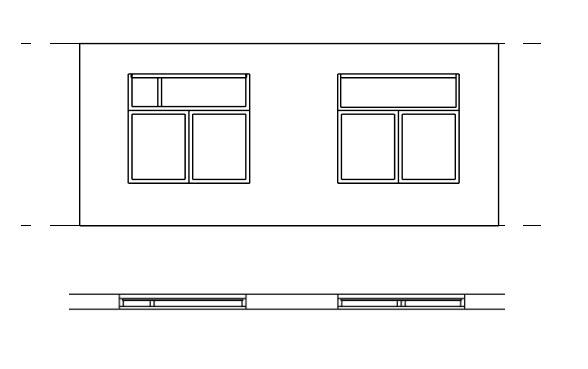 window family doesn u0026 39 t cut in plan view