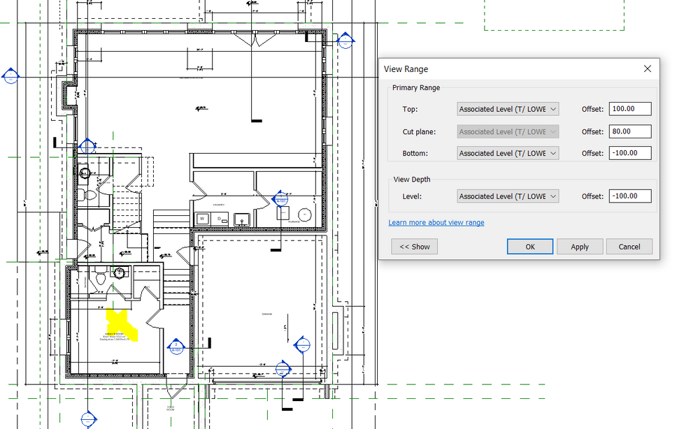 Solved Can T See Or Put The Elevation Mark On Floor Autodesk Community Revit Products