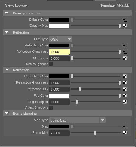 Solved: No IOR fresnel options in Vray material settings - Autodesk  Community - Maya