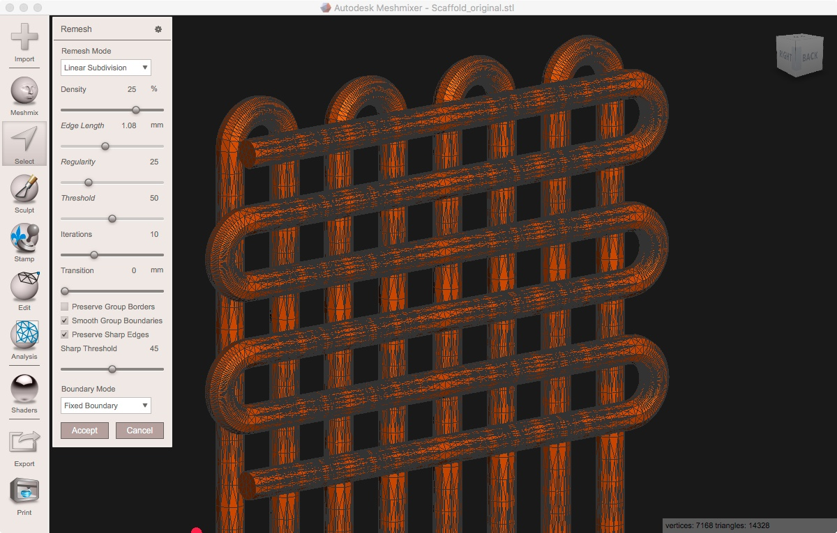 weld meshed layers - Autodesk Community