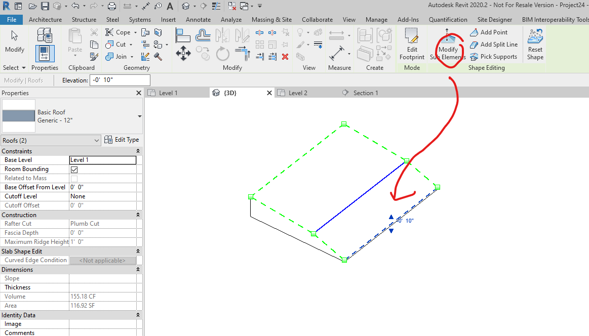 Solved Questions On The Best Way To Construct The Following Roof Autodesk Community Revit Products