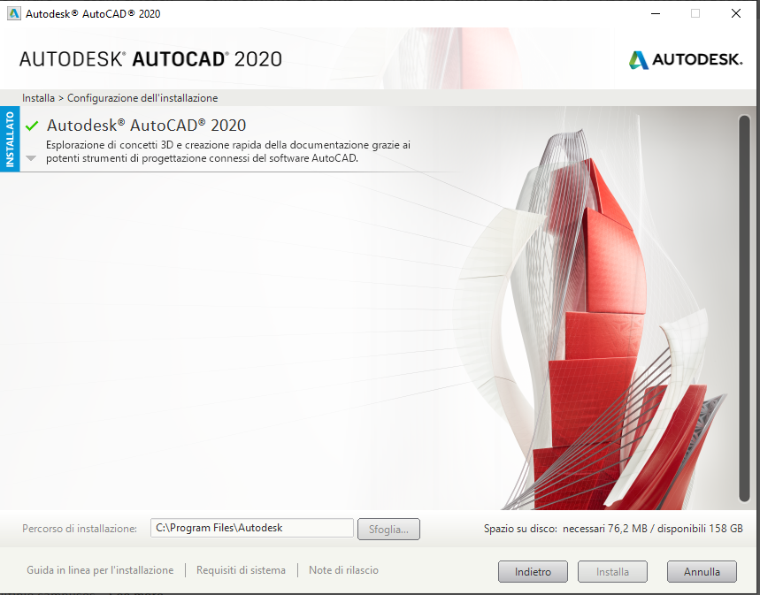 Problem With Installation Of Autocad 2020