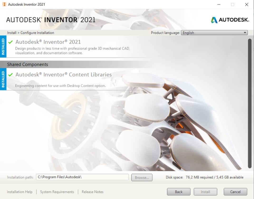 Solved  Problem Installing Inventor 2021