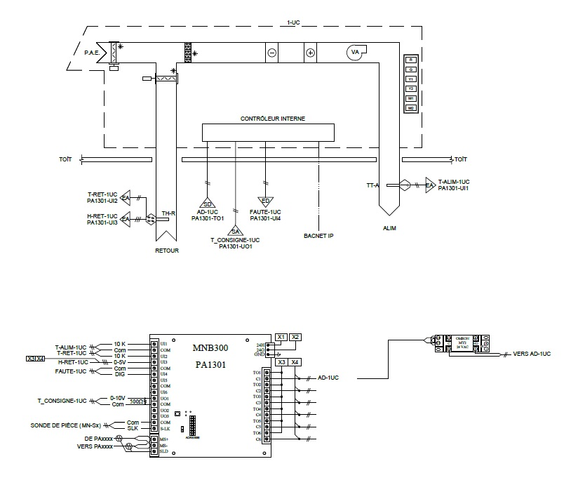 HVAC Controls Drawing - Autodesk Community - AutoCAD Electrical | Hvac Controls Drawing Images |  | Autodesk Forums