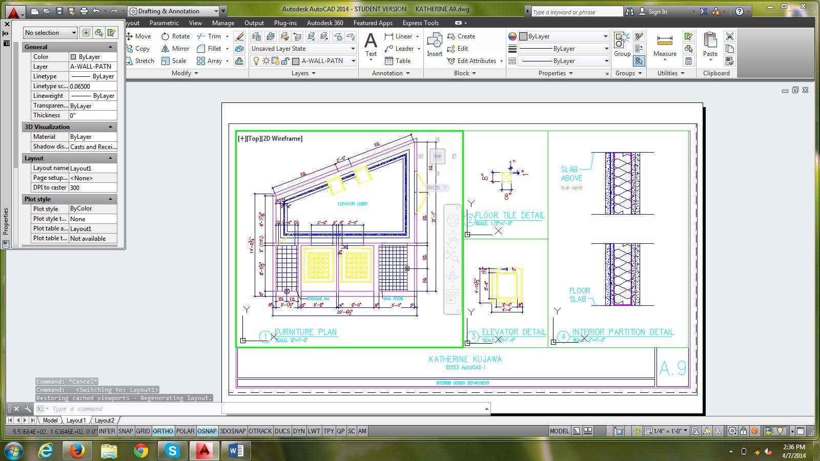 Text in Layout and Model - Autodesk Community- AutoCAD
