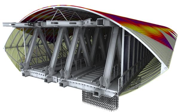 3D модель метромоста создана