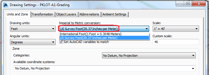 We Type Units But Have Only Options For Feet Inches Meters Etc