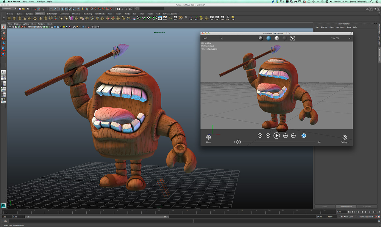 FBX Review v1 2 - Now on iOS and MacOS X! - Autodesk